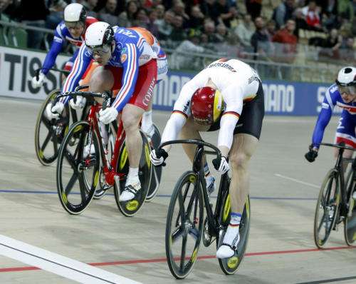 WM-Gold im Keirin 2009.